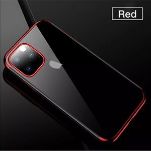 iPhone 11 Pro Max clear silicone case cover